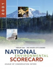 2001 National Environmental Scorecard