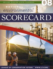 2008 National Environmental Scorecard