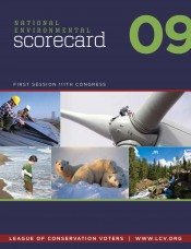 2009 National Environmental Scorecard
