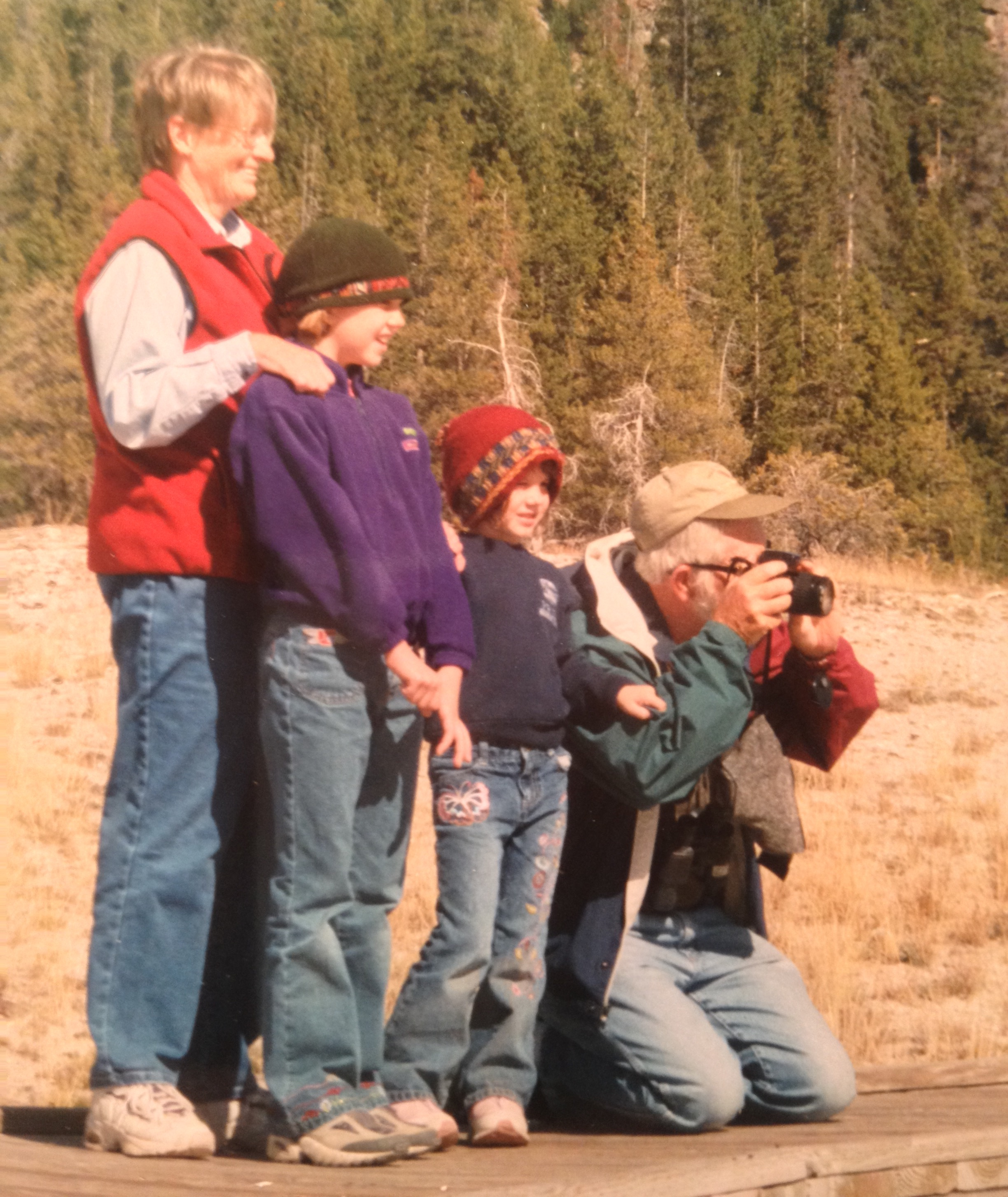 Court Family at Yellowstone